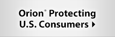 Orion Protecting U.S. Consumers