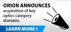 Orion Acquires Premier Optics Domains