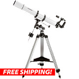 Orion AstroView 90mm Equatorial Refractor Telescope