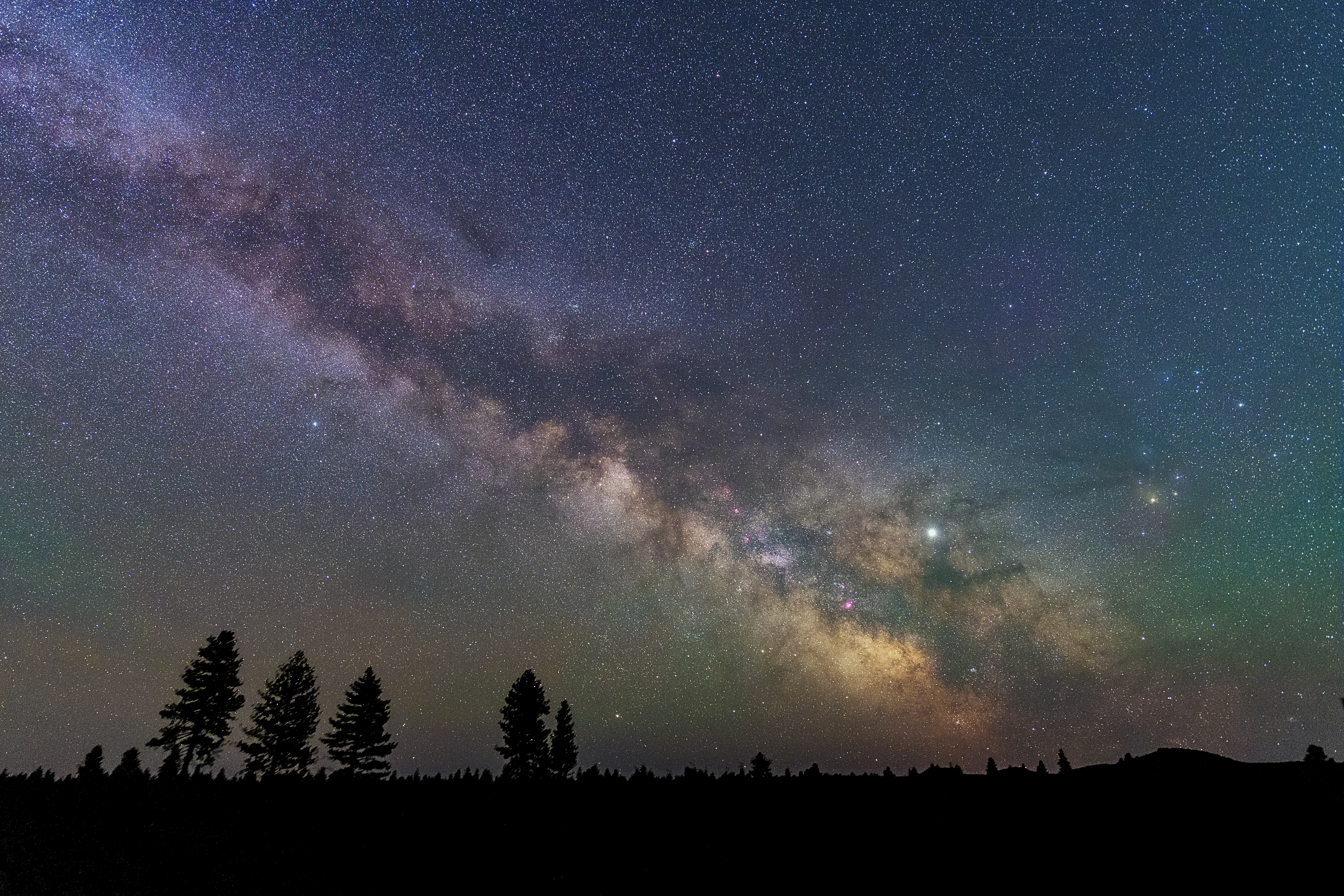 Milky Way, 45-Seconds Tracked