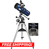 Orion StarBlast II 4.5 EQ Reflector & AstroTrack Motor Drive