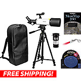 Orion GoScope 80mm Backpack Refractor Telescope Kit