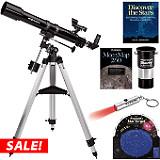 Orion Observer 70mm Equatorial Refractor Telescope Kit
