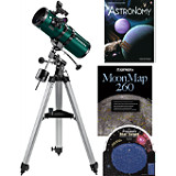 Orion StarBlast 4.5 EQ Reflector Telescope Value Kit