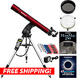 Orion StarSeeker IV 80mm GoTo Refractor Sun & Moon Kit