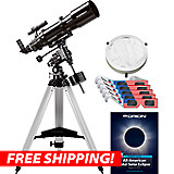 Orion AstroView 120ST EQ Refractor Telescope Eclipse Kit
