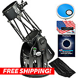 Orion SkyQuest XX12g GoTo Truss Tube Dobsonian Eclipse Kit