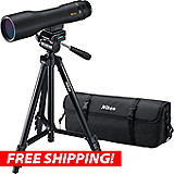 Nikon 16-48x60mm Prostaff 3 Fieldscope Outfit