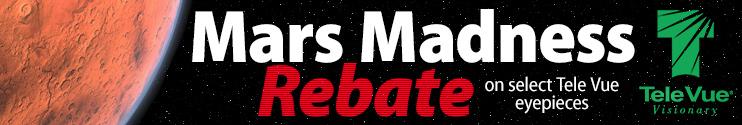 Tele Vue Mars Madness Rebate