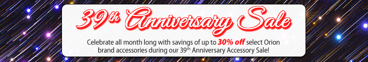 Orion's 39th Anniversary Sale!