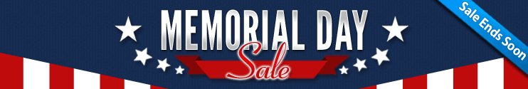 Memorial Day Sale Ends Soon