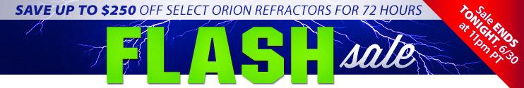 Flash Sale Refractors Ends Tonight