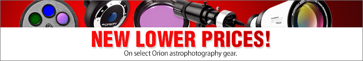 New Lower Prices on Astrophotography Gear