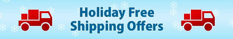 Holiday Free Shipping Offers
