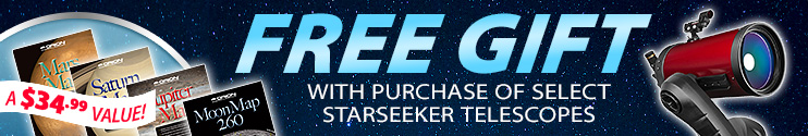 Free Gift with Select StarSeeker IV Telescopes