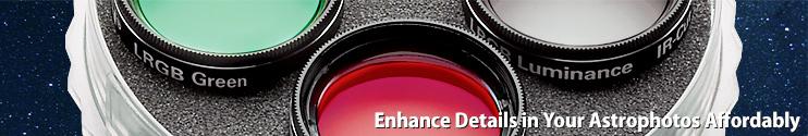 Enhance details in your astrophotographs affordably
