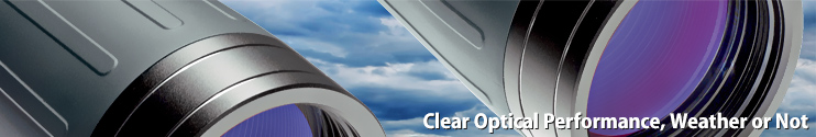 Clear optical performance, weather or not