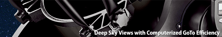 DeepSky views with computerized GoTo efficiency