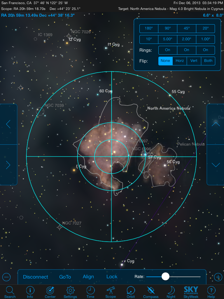 Controlling your GoTo telescope using StarSeek 4 from an iPad sure beats using the scope's native hand controller